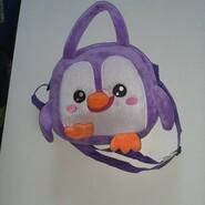 Сумка пингвинчик,  23х21