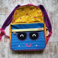 Крутой фирменный рюкзак Skoodle с ланч бэгом и пеналом для садика, школы и путешествий
