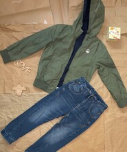 Курточка ветровка Benetton