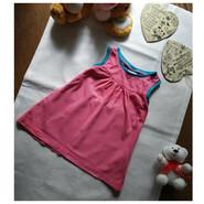 Туника платье на 6-9 месяцев. Трикотажная, Фирменная. На лето, то надо
