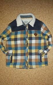 Рубашка на овчине 2-3 года.