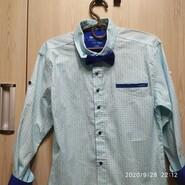Берюзовая рубашка