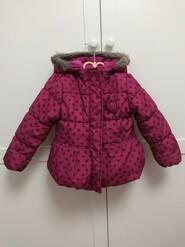 Рожева курточка в горошок