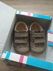 Ботиночки кожаные 21р.
