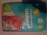 Pampers aktive baby-dry