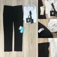 Детский комплект брюки и рубашка на мальчика 6-7 лет
