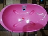Ванночка с определением температуры воды