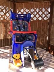 Велокресло сиденье на велосипед для ребенка немецкой фирмы KETTLER