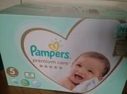 Підгузники Pampers premium care5    88шт-600грн