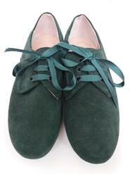 темно зелені туфлі