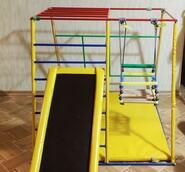 Детский спортивный комплекс горка лестница домик