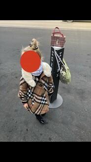 Пальто и беретик Burberry