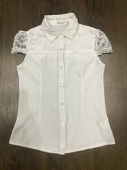 Блузка для дівчинки,шкільна форма