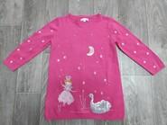 Тёплое платье туника для девочки 4-5 лет в отличном состоянии