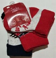 Новогодние махровые носки - набор Cool Club р. 16-18