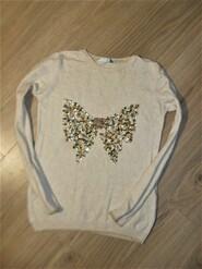 Тонкий теплый свитер на 11лет рост 146