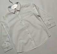 Молочная классическая рубашка Mayoral р. 92