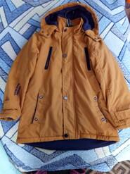 Куртка для хлопчика в дуже хорошому стані.розмір 128.на 6.7років