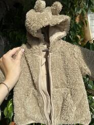 Кофточка куртка мишка