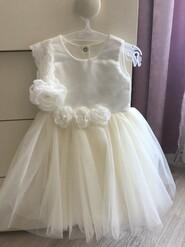 Святкова сукня фірми Betis,колір айворі,68 розмір.
