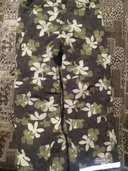 Телые зимние штаны для девочки