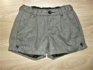 Теплые нарядные шорты на 10-11лет
