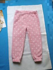 Мягенькие штанишки на девочку 4_5 лет.