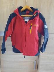 Червона куртка для хлопчика