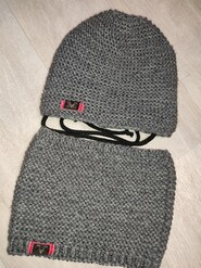 Новая шапка и снуд