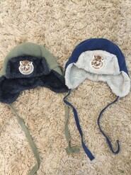Зимові шапки для двійні вік 1,5- 3 роки розмір 48
