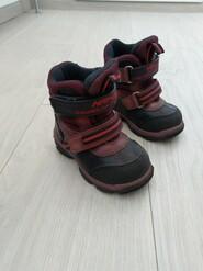 Зимние ботинки для девочки Minimen минимен, 22 размер