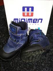 Зимние ботиночки на мальчика Minimen Ortopedik, оригинал 24 р