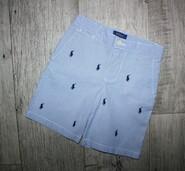 Стильные яркие шорты шорти светлые поло Polo Ralph Lauren 5 лет, рост 110 см.