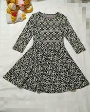 Стильное платье на 8-9 лет. F&F. Рукав длинный