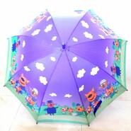 Детский зонт трость три кота