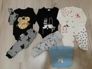 Набор новых вещей на малыша 6-9 месяцев