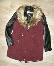 Стильная парка, куртка, пальто на 9лет рост 134