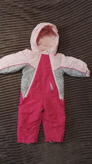 Комбинезон розовый lupilu