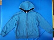 Кофта теплая с мехом и капюшоном Faded Glory, USA, 128-134 см