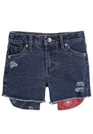 Новые джинсовые шорты Levi's 4-5 лет