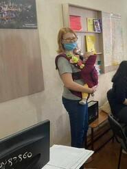 Эрго рюкзак для сидящего ребёнка Katinka