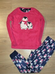 Теплая пижама на 9-10лет рост 140