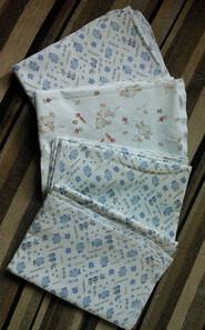 Б/У Фланелевые пеленки 100х70 см — 4 шт.