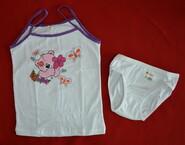 Комплект нижнего белья для девочки в Мишка сиреневый (Donella, Турция)