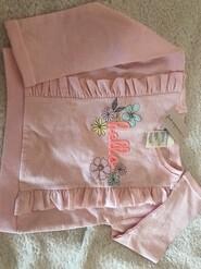 Рожева кофтинка для дівчинки 2р.
