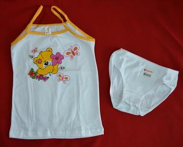 Комплект нижнего белья для девочки в Мишка желтый (Donella, Турция)