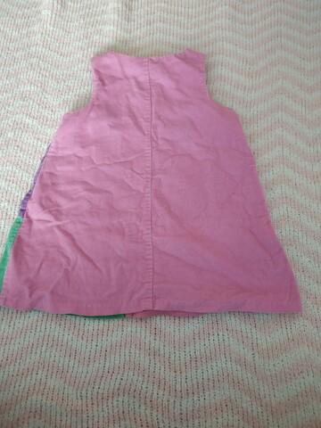 Рожевий вельветовий сарафан