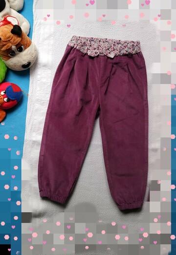 На 1.5_2 годика красивые стильные штанин. Цветной пояс м бантом