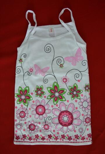 Комплект нижнего белья для девочки в цветочки (Donella, Турция)