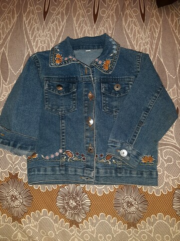 Джинсовка пиджак